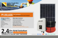 2.4KWP On-Grid Solution (High End)