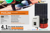 4.1KWP On-Grid Solution (High End)
