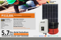 5.7KWP On-Grid Solution (High End)