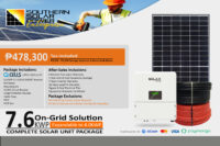 7.6KWP On-Grid Solution (High End)